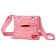 Geanta de umar Monsters Mini ZIP...IT - roz deschis