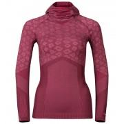 Odlo Blackcomb Evolution Warm Shirt L/S With Facemask Women zinfandel-sangria XL 2016 Langarm Shirts
