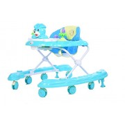 Planet of Toys Baby Walker with Music (Blue)