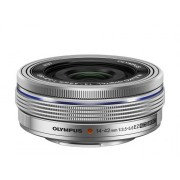 Olympus M.ZUIKO DIGITAL 14-42mm 1:3.5-5.6 EZ (electronic zoom) / EZ-M1442EZ silver
