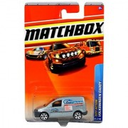 Mattel Year 2009 Matchbox MBX City Action Series 1:64 Scale Die Cast Car #65 - Quick Steam Cleaners Silver Color Light Commerical Vehicle VOLKSWAGEN VW CADDY