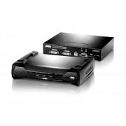 ATEN KE6940 :: ALTUSEN KVM Over IP екстендър, DVI, Dual Display