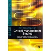 Key Concepts in Critical Management Studies by Mark Tadajewski