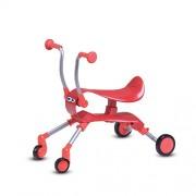 Smart Trike 900-3500 Springo - Bicicletta a 4 ruote, per bambini, colore: Rosso