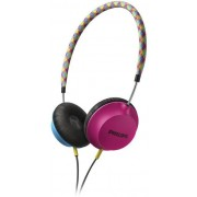 Casti Stereo Philips SHL5100BP (Albastru/Roz)