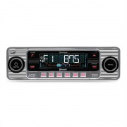Auna TCX-1-RMD Autorradio bluetooth USB SD MP3 AUX CD plata