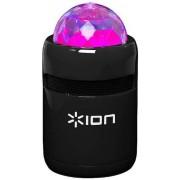 ION Audio Party Starter Enceinte Bluetooth Sans Fil Ultra Portable avec Éclairage LED Intégré Synchronisé et Chargeur Micro-USB