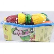 Little Grin Food Heaven Vegetable Fruit Chopping Kit For Kids Toy Gift Knife