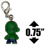 Hulk ~0.75 Marvel Munny World Micro-Figure Zipper Pull
