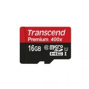16GB Micro SD memorijska kartica Class 10 UHS-1 Transcend TS16GUSDU1