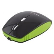 Mouse Wireless Esperanza EM121K Optic Negru/Verde