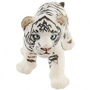 Papo White Tiger Cub Figure