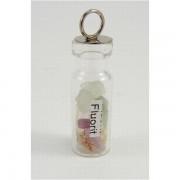 Ezoterikus üveg medál - Fluorit