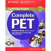 Emma Heyderman Complete PET for Spanish Speakers Student's Book without Answers with CD-ROM