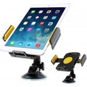 Suporte Universal Automóvel para Tablet 7-11 - Amarelo
