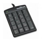 Tastatura Manhattan Numeric USB Black