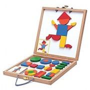 Djeco DJ03130 Wooden Magnetic- Geoform Novelty