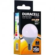 Duracell Ampoule LED E14 4W Dépolie, petit Globe (DRLEDM4)