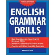English Grammar Drills by Mark Lester