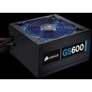 Corsair Gaming Series GS600 - Alimentation ( interne ) - ATX12V 2.3/ EPS12V - 80 PLUS - CA 90-264 V - 600 Watt - PFC active - Europe