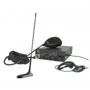 Kit Statie radio CB PNI ESCORT HP 8001 ASQ + Casti HS81 + Antena CB PNI Extra 45 cu magnet (PNI)