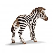 Figurina animal pui de zebra 14393
