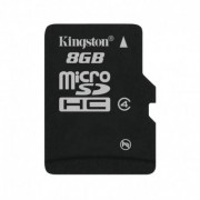 Kingston Microsdhc class 4 flash card w/o adapter 8gb