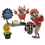 Diamond Select Toys Plants vs. Zombies Garden Warfare: All-Star Football Zombie vs. Shadow Flower Select Action Figure