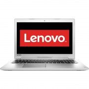 "Notebook Lenovo IdeaPad 510, 15.6"" Full HD, Intel Core i7-6500U, 940-4GB, RAM 4GB, HDD 500GB, Free DOS, Alb"