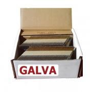 Pointes 34° crantées GALVA 3.1x80 boite de 2000 avec gaz