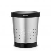 Brabantia irodai szemetes 5 literes matt chrom - 364303