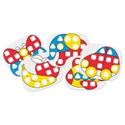 Quercetti 04410 - Gioco Fantacolor Baby XL Mixed Pegs