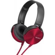 Casti Stereo Sony MDRXB450APR, Extra Bass (Rosu)