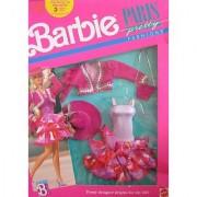 Barbie Paris Pretty Fashions - Pretty Designer Brights For City Life! (1989 Mattel Hawthorne)