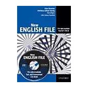 New English File Pre-Intermediate Teacher's Book with Test and Assessment CD-ROM