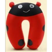 Cute Ladybug U Shape Feeding & Nursing Baby Neck Pillow