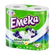 Hartie Igienica Emeka Mount Fresh - 4 role