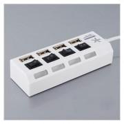 Terabyte 4 port with individual switch USB Hub