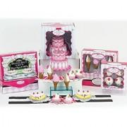 Mini 18 Inch Doll Food Set SophiaS Complete Sweet Treat Set W/ Ice Cream Frozen Yogurt Banana Splits & Cake Doll Acce