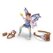 Schleich Elf Riding Set With Limeya Figurine