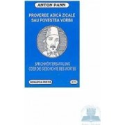 Proverbe adica zicale sau povestea vorbii - Anton Pann