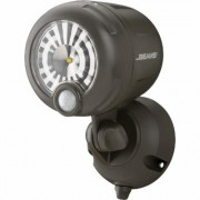 Mr. Beams Motion-Activated Wireless LED Spotlight - 200 Lumens, Brown, Model MB360XT-BRN-01-01