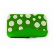 Manikúra set 7 dílů puntík zelený 9153-1 9153-1
