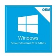 Windows Server 2012 Standard R2 OEM Full 64bits - 5 calls