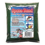 Dunecraft Neon Space Sand 1 Pound. Green Science Kit