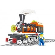 Engine Train 99pcs 3 In 1 Building Blocks Locomotive Sets Complete With Tracks And Station Master Figure For Unending Steaming Fun Gift For Young 6+ Travelling Adventurer In Lego Compatible Parts