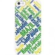 Husa Capac spate Orase din Brazilia Multicolor APPLE iPhone 5s, iPhone SE Muvit