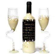 Set de vin personalizat pentru miri
