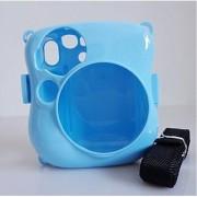 Woodmin Mini 25 Colorful Protection Camera Case for fujifilm instax Mini 25 Case---Blue