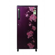 Kelvinator 190 L 3 Star Direct-Cool Single Door Refrigerator (KS203PTQR/KW203PTQR, Bouquet Red)